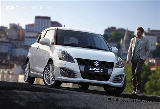 2011东京车展 铃木发布全新雨燕Sport