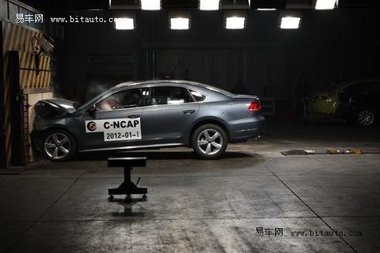 2012年C-NCAP首批结果发布 10款新车入围