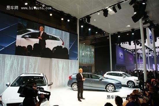 沃尔沃全系车型亮相北京车展 V40首发