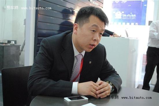 易车网专访东风标致区域经理喻山昆先生