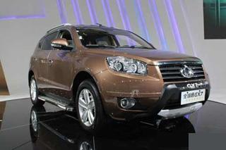 吉利首款SUV全球鹰GX7 长春车展区域首发