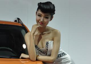 2012长春车展 9号馆车模