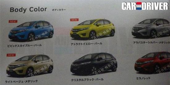 新飞度年底东京车展首发 尺寸更大