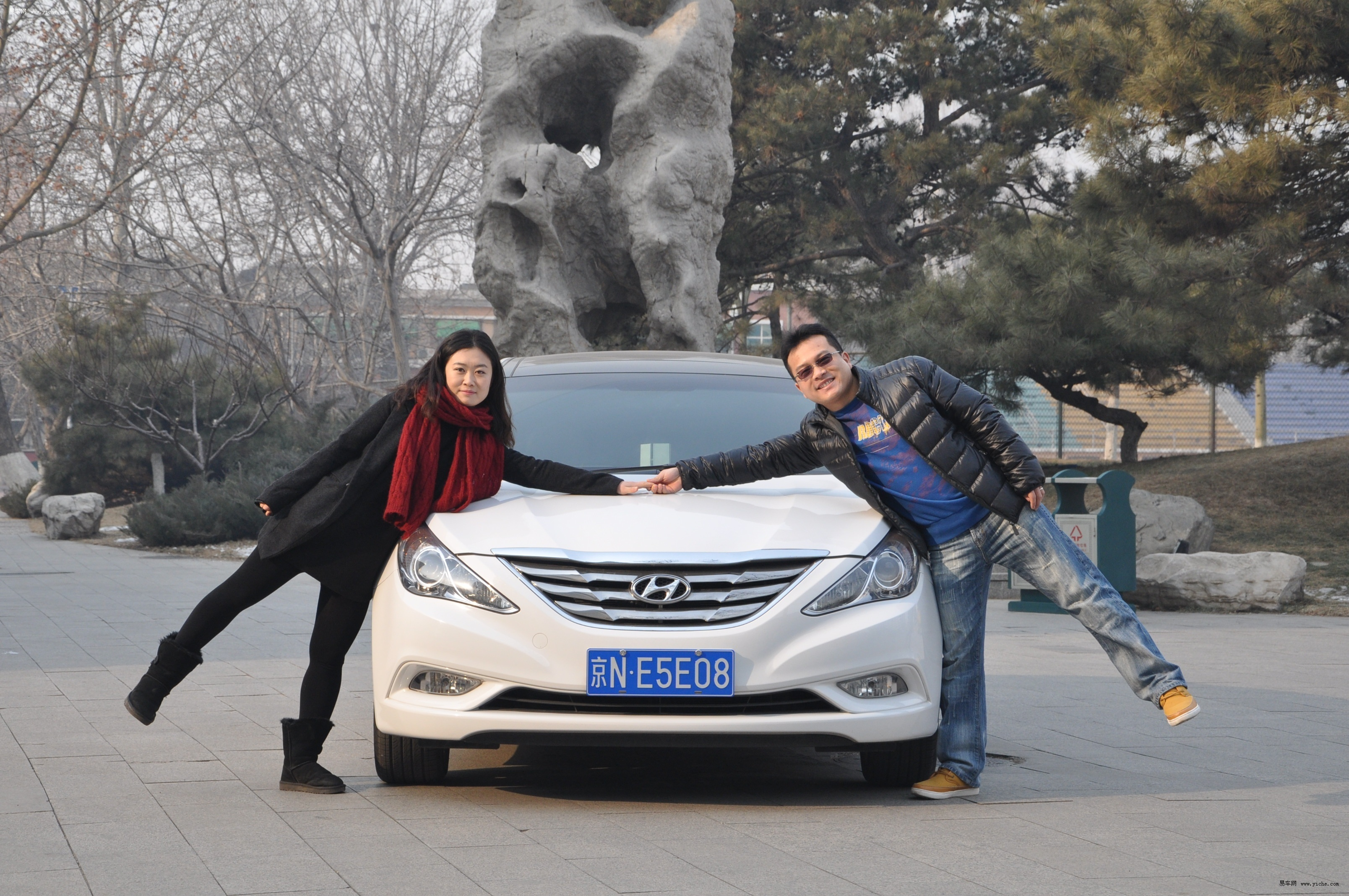 专访车主朱亚斌 第八代索纳塔彰显个性 高清图片