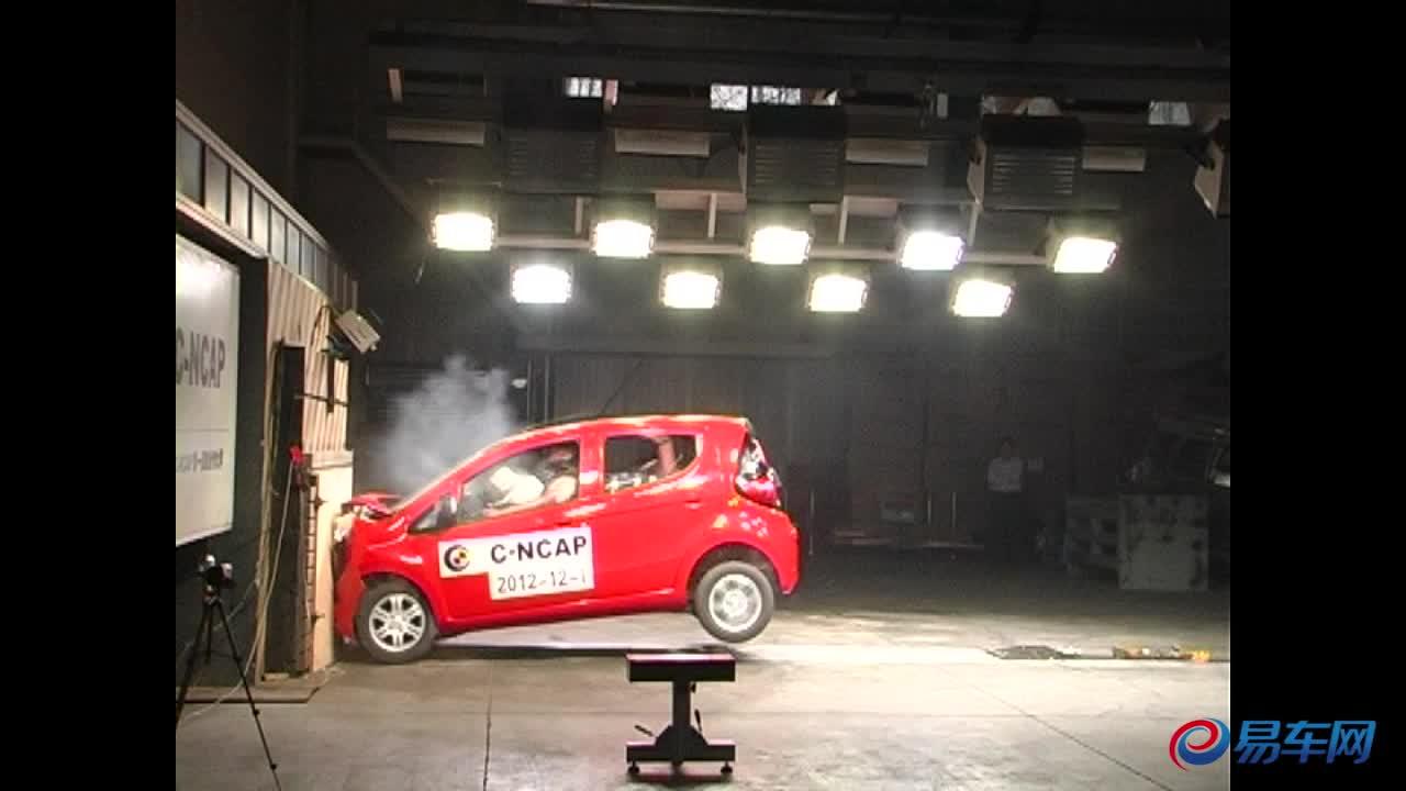 奔奔MINI C-NCAP碰撞测试仅获三星