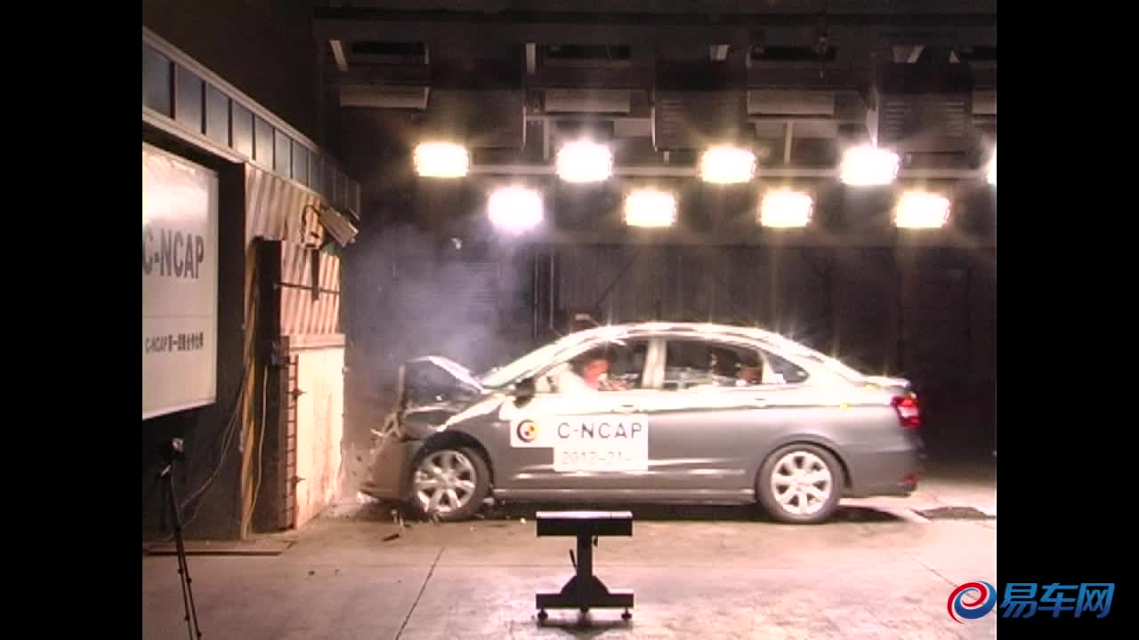 风神A60 C-NCAP碰撞测试荣获五星