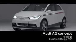 更多细节曝光 奥迪A2概念车登巴黎车展