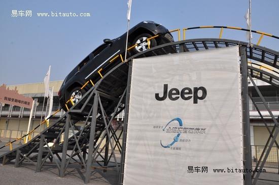 jeep家族在越野方面的能力毋须置疑高清图片