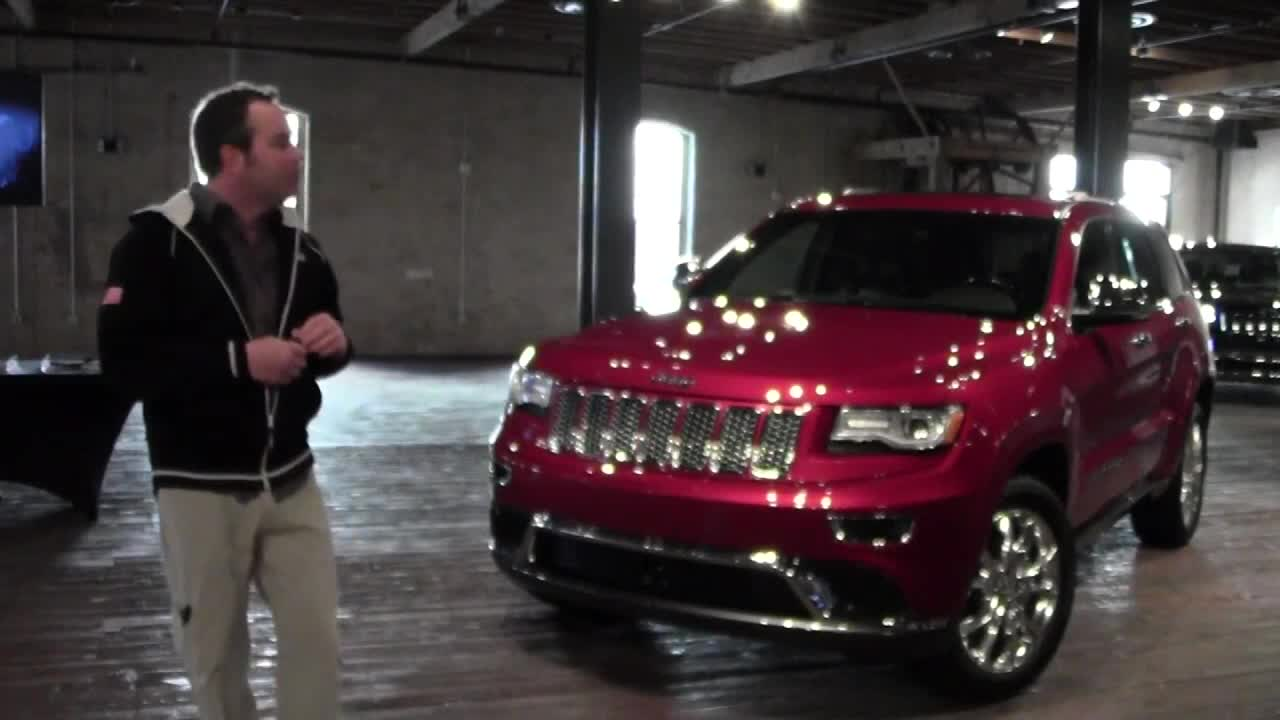 深度解析jeep大切诺基高清图片