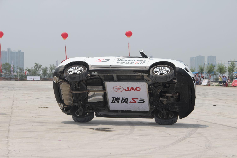 瑞风s5两轮行驶进军吉尼斯 舞动中国开演图片