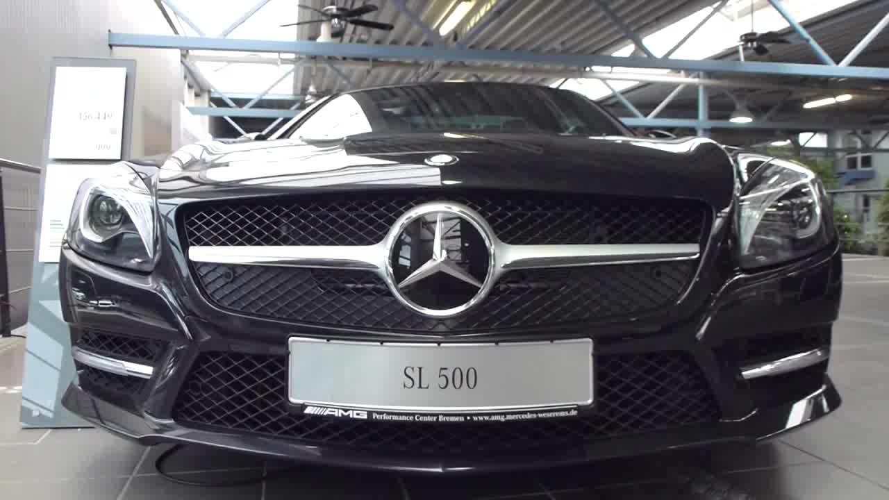 对比Benz SLK55 AMG和SL55 AMG