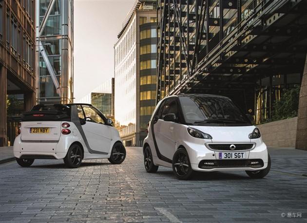 Smart将推Grand Style特别版 更具运动感