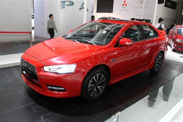 东南三菱新翼神未来版亮相2014北京车展