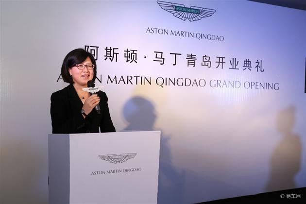 阿斯顿马丁中国区域总裁郑津兰高清图片