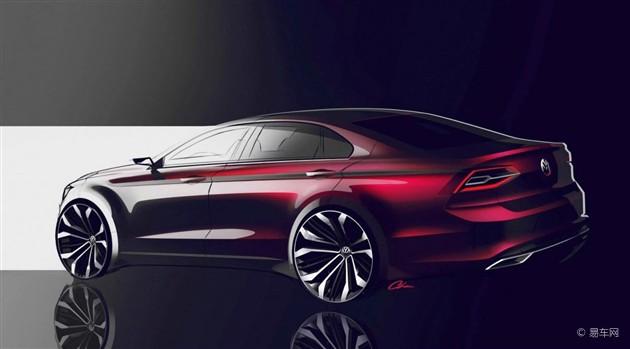 大众北京车展新概念车或为高尔夫CC雏形
