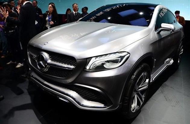 2014北京车展 奔驰Coupe SUV概念车发布