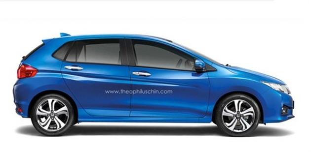 本田将推锋范两厢 或借鉴概念车设计