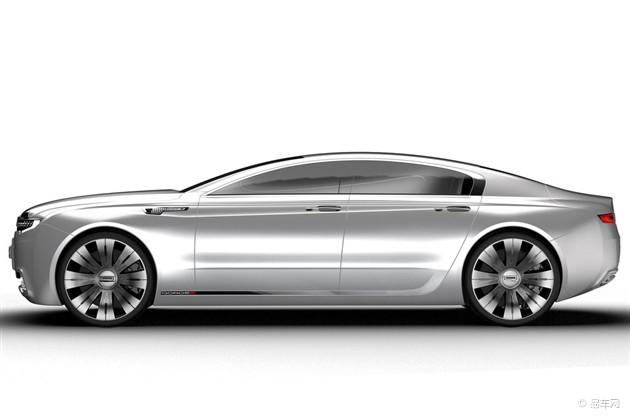 网通社汽车频道 观致9概念车设计图曝光    观致9概念车的线条十分