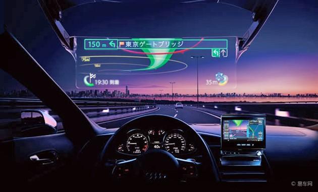 汽车风挡上的革命 从抬头显示到虚拟风挡图片