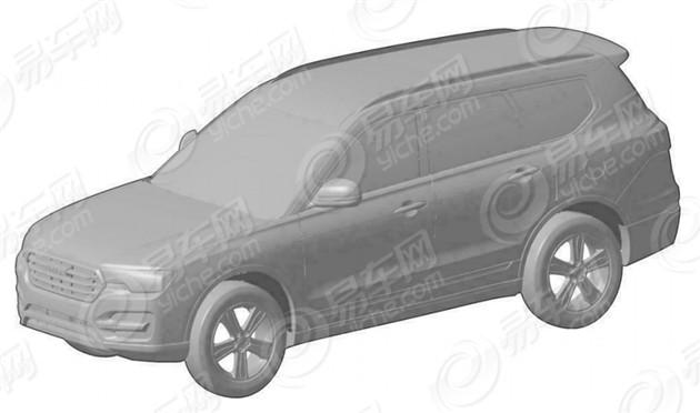 哈弗Coupe C量产版申报图曝光 或年内上市