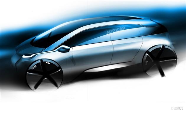 全新宝马i5将采用氢燃料电池 5分钟充满电