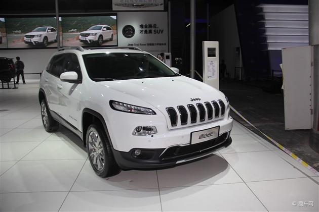 2014广州车展Jeep参展阵容 自由光领衔