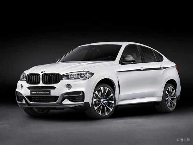 宝马发布全新X6 M Performance套件版车型