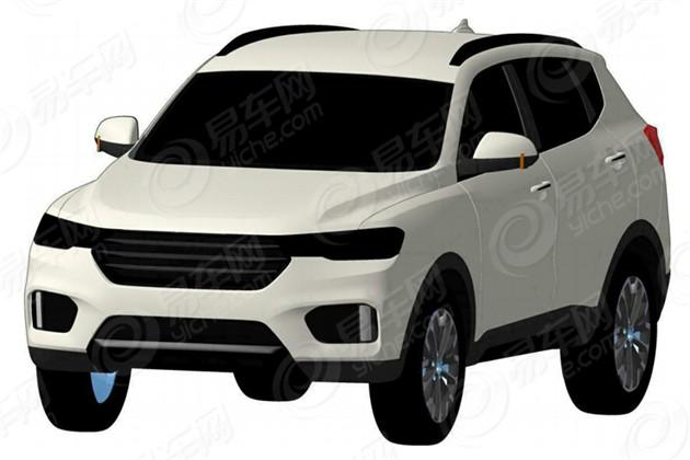 哈弗H6 Coupe申报图曝光 有望下半年上市