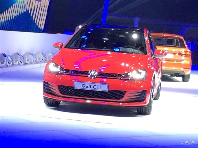 2015上海车展 大众高尔夫7 GTI首发亮相
