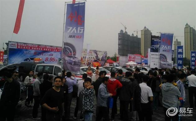 江淮汽车安徽春季车展销量千台,完美收官