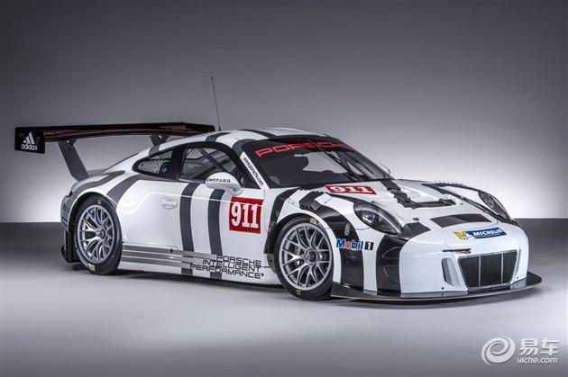保时捷911 GT3 R赛车发布 车身更加轻量化