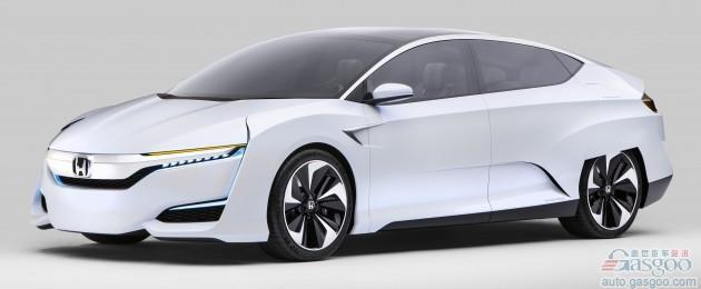 本田称2020年前投产FCV 量产版接近概念车