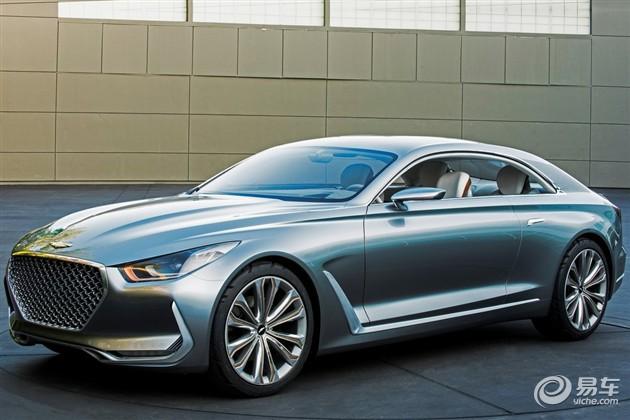 现代Vision G概念车官图 搭载5.0L发动机