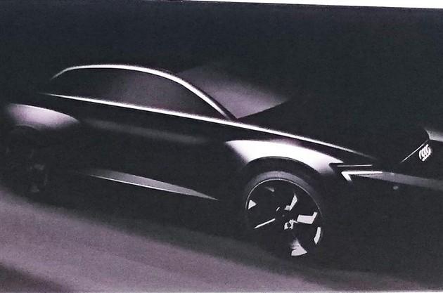 奥迪Q6电动版概念车将亮相法兰克福车展