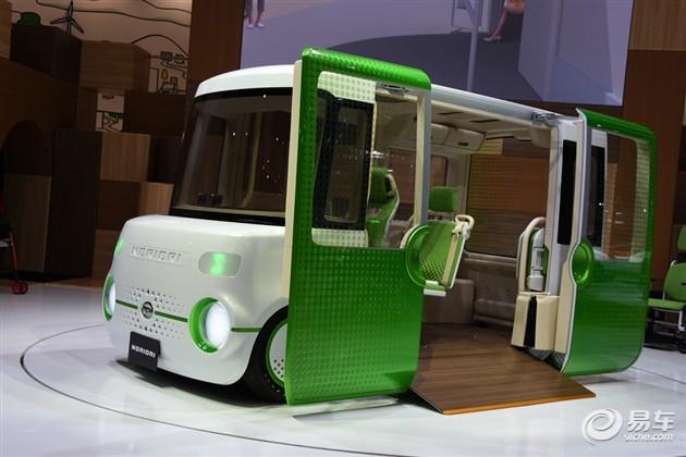 2015东京车展 大发推出三款多用途概念车