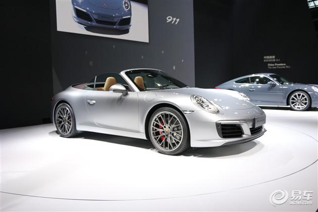 2015广州车展 保时捷新款911国内首次亮相