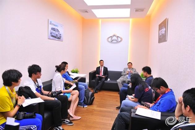 2015广州车展 长安汽车副总裁王俊访谈