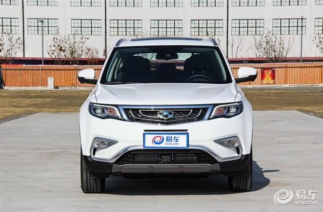 3月26日上市 温州吉利博越新车已到店