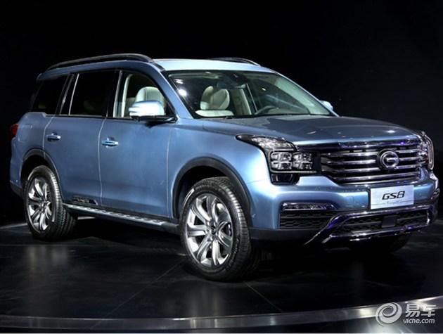 广汽传祺GS8正式发布 今年第三季度上市