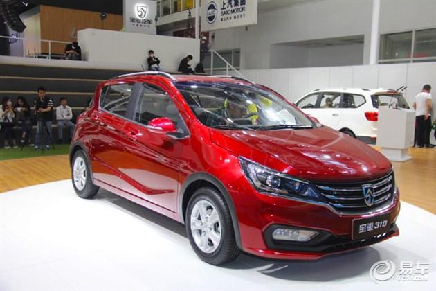 动感两厢小型车 宝骏310北京车展首发