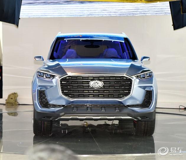 上汽大通7座SUV车型将于2017年正式推出