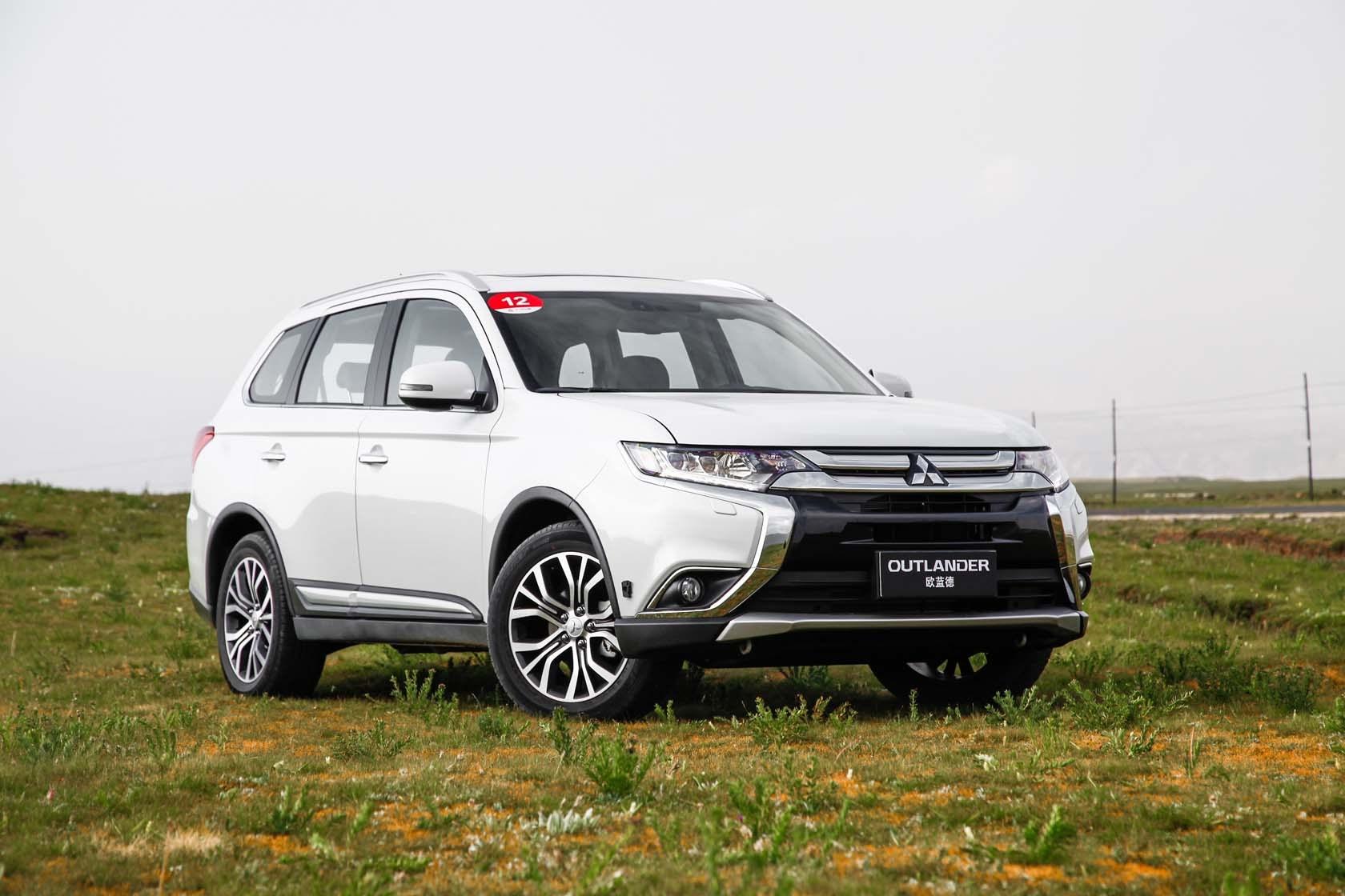 广汽三菱欧蓝德发布 预售价16万-24万元