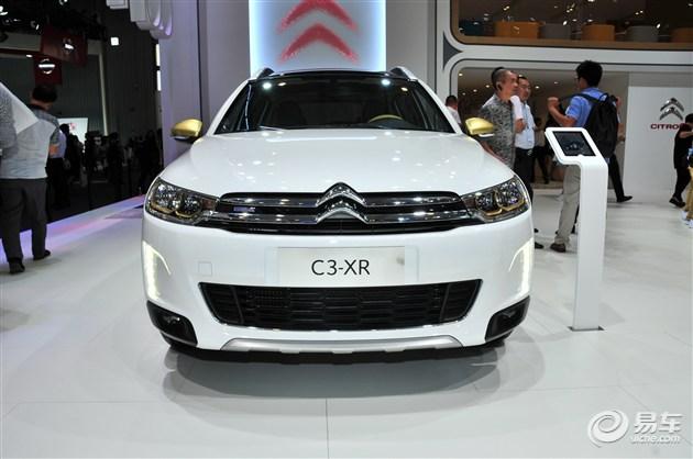雪铁龙C3-XR 1.2THP车型亮相成都车展