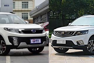 昌河Q35对比远景SUV 8万自主SUV新人战