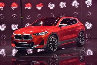 展现不同风格的运动SUV 宝马X2概念车图解