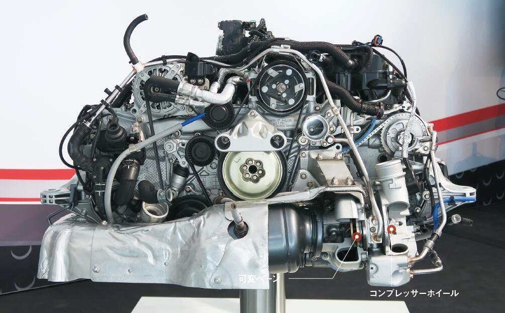 保时捷全新H4发动机解析 少2缸照样吊打你