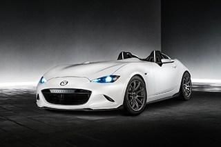 马自达发布MX-5轻量化概念车 仅重898kg
