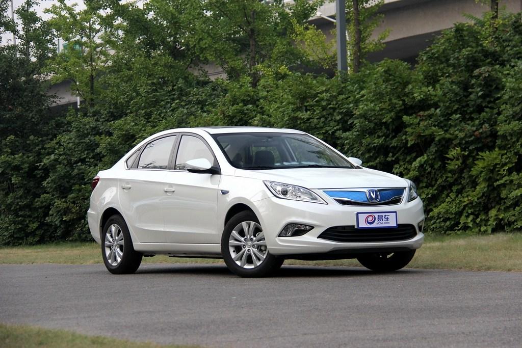 续航里程提升 新款逸动EV于广州车展亮相