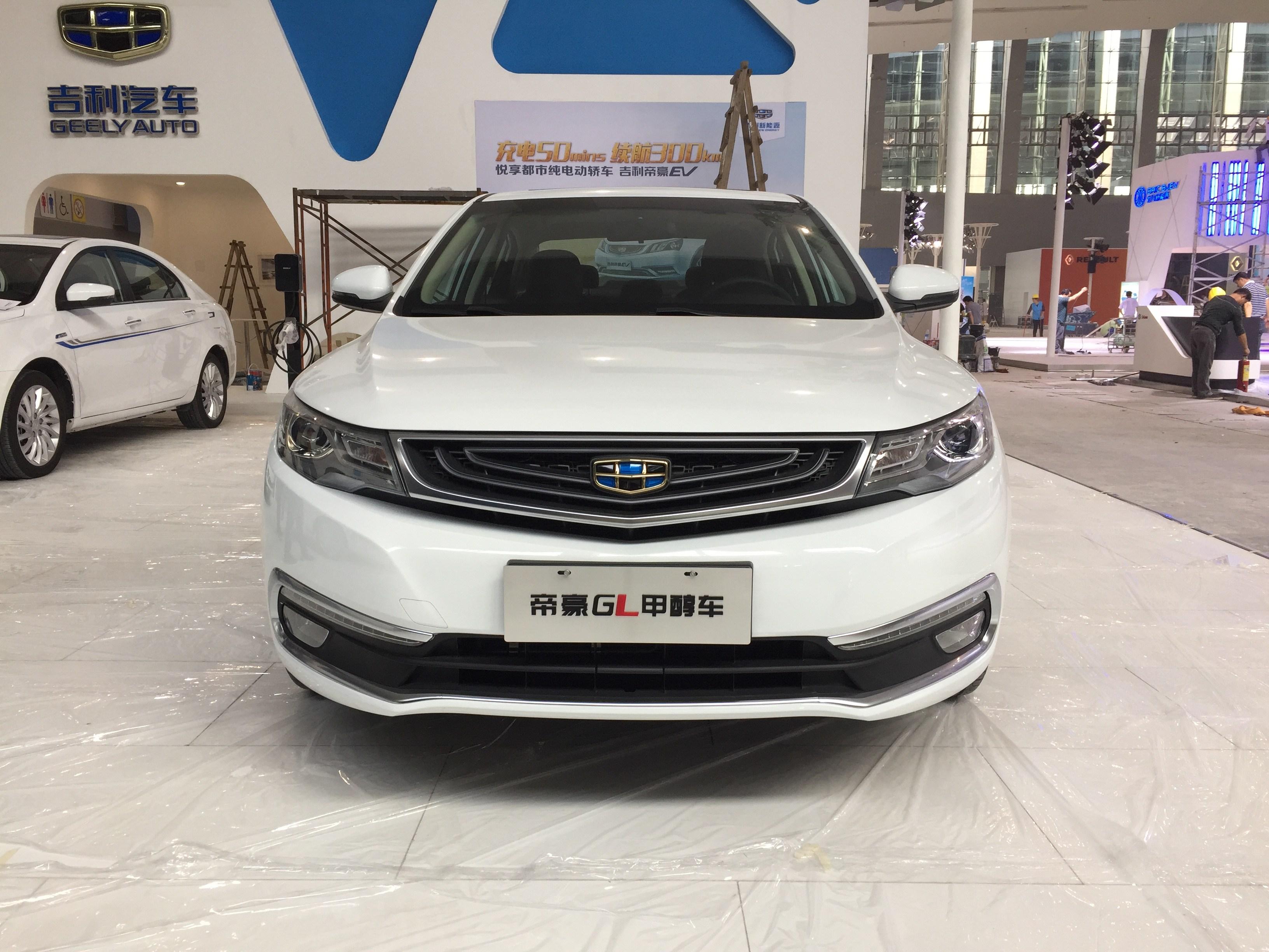 2016广州车展探馆 帝豪GL甲醇燃料车曝光