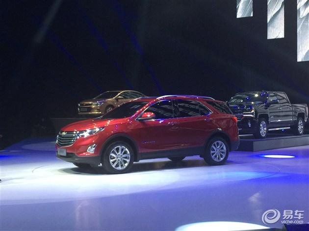 雪佛兰国产全新中型SUV探界者首发